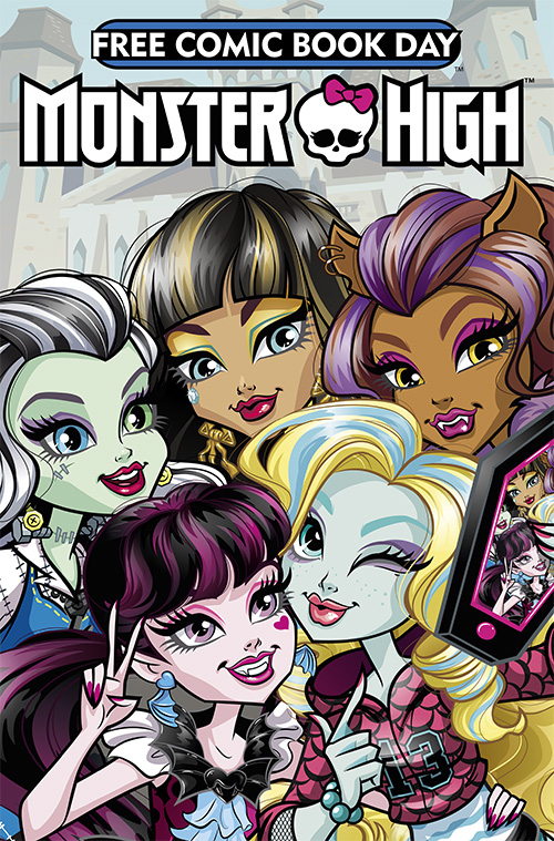 Free Comic Book Day 2017 - Monster High