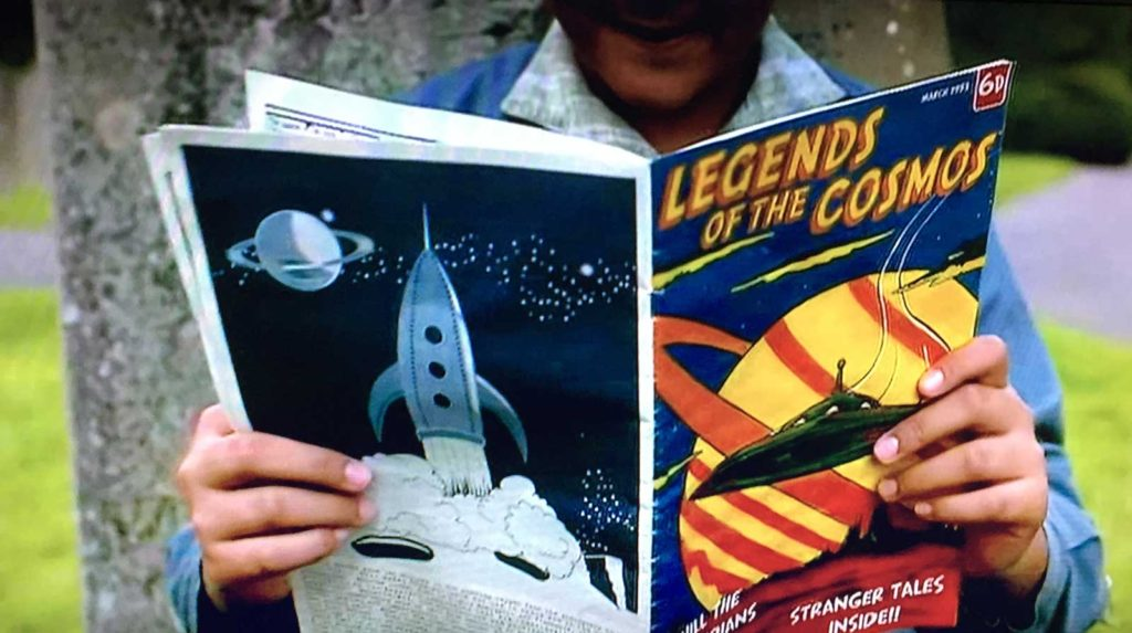Father Brown - Fire in the Sky: Legends of the Cosmos comic - cover