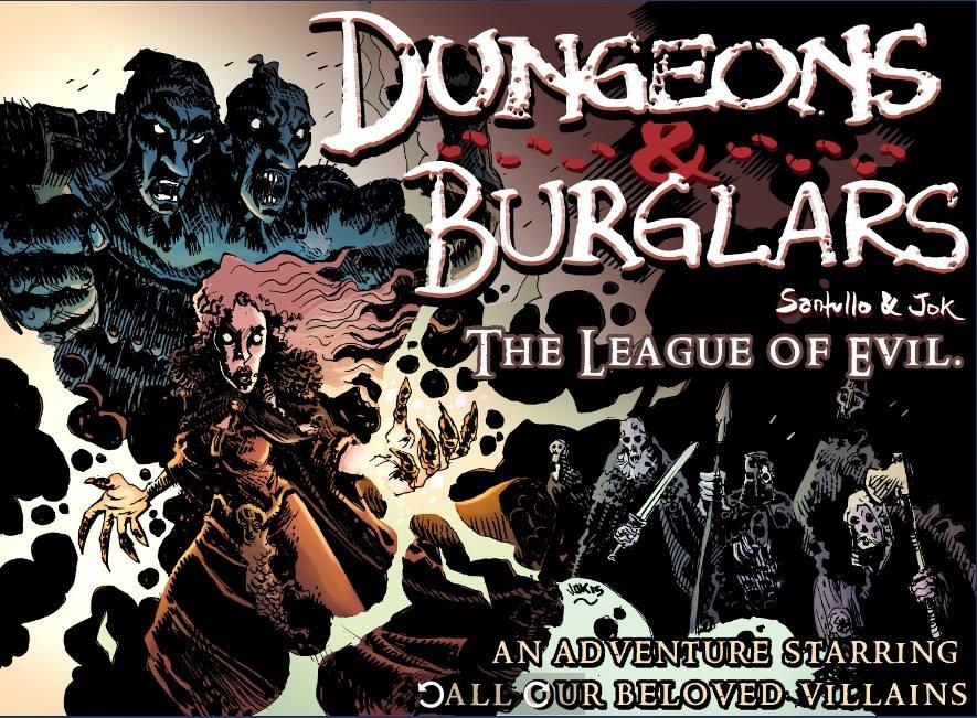 Dungeons and Burglars by Jok LP and Rodolfo Santullo