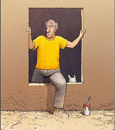Self Portrait - Moebius