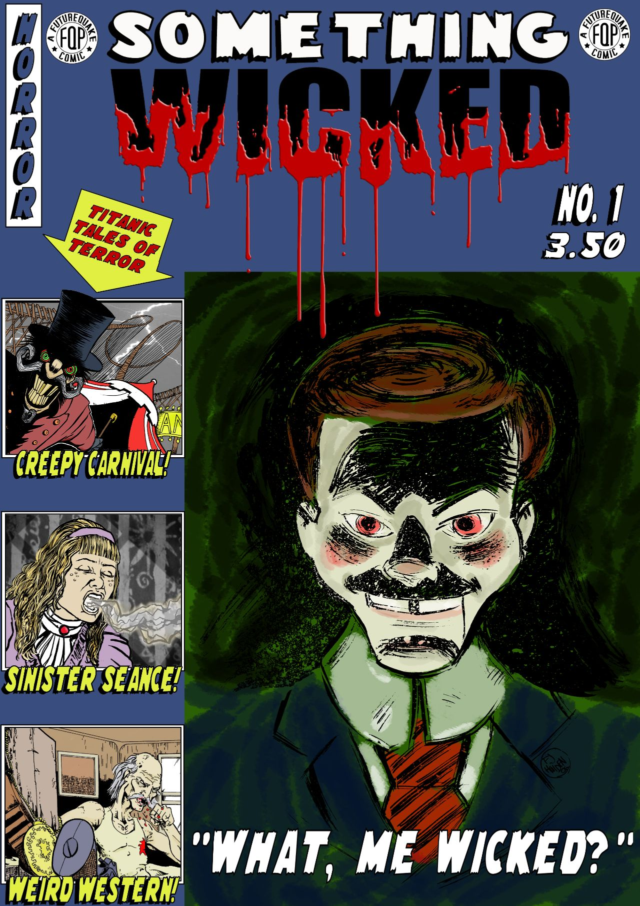 Something Wicked Issue One - Cover