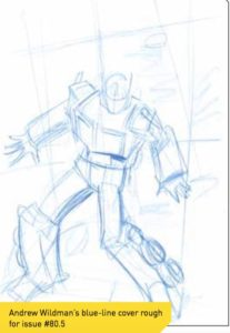 Andrew Wildman Transformers art in progress revealed