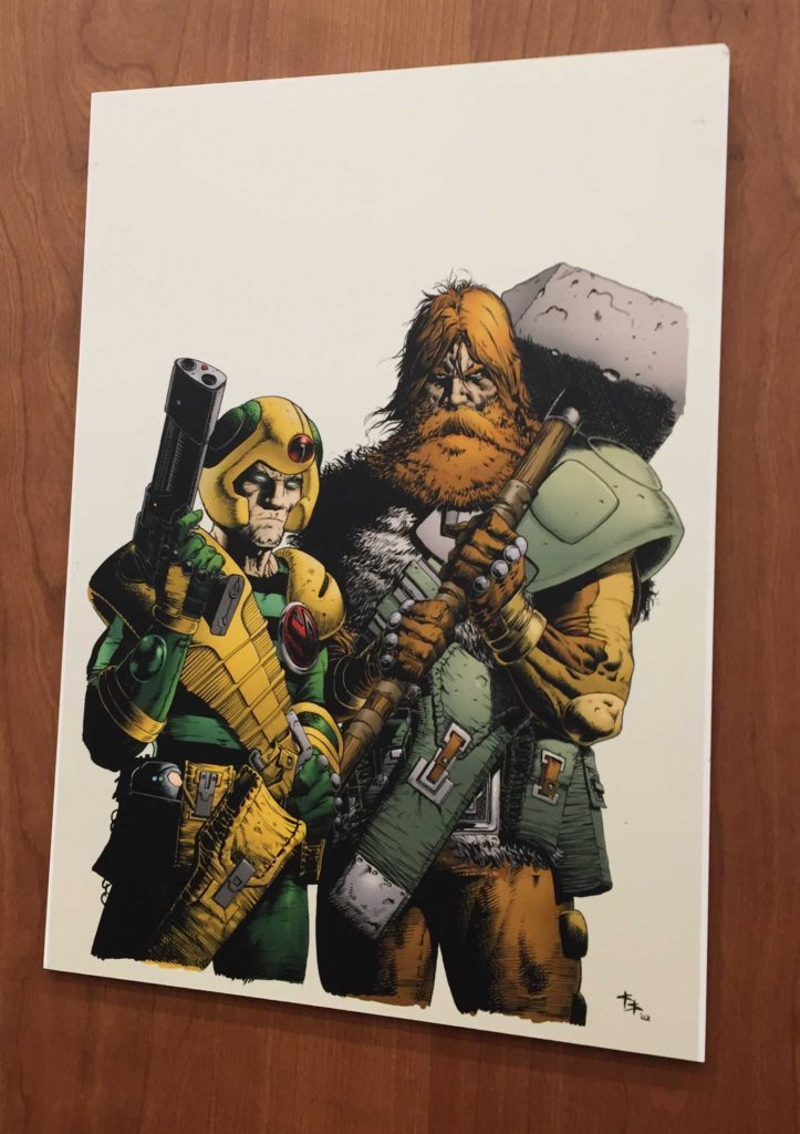 2000AD - 40 Years of Thrill-Power - Prints