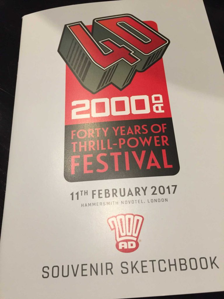 2000AD - 40 Years of Thrill-Power Booklet