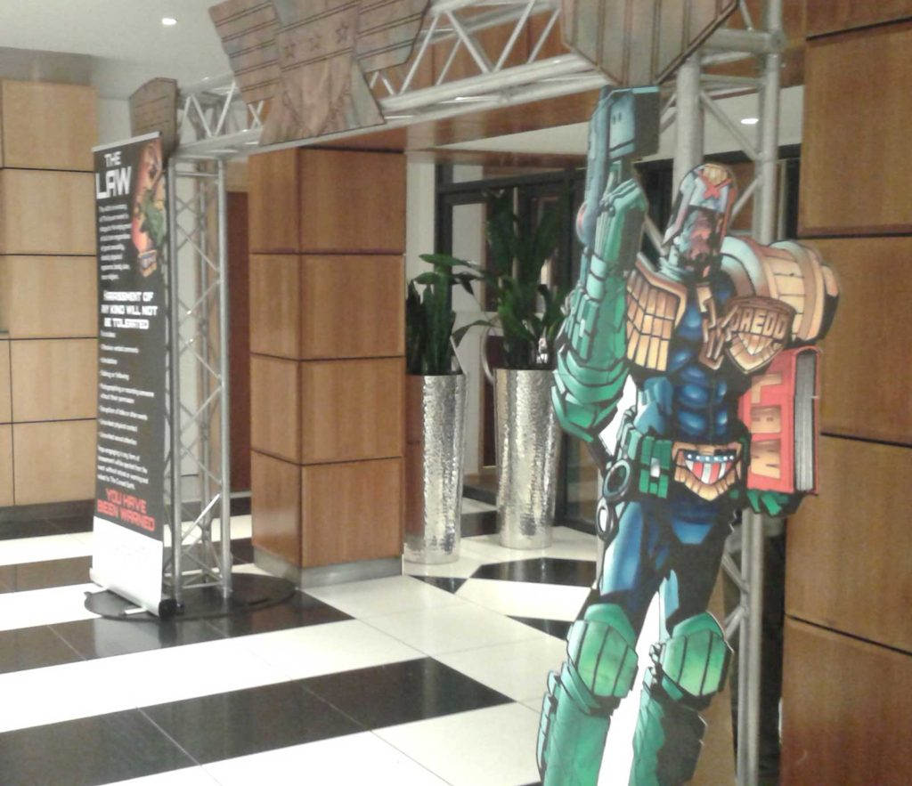 2000AD - 40 Years of Thrill-Power Entrance