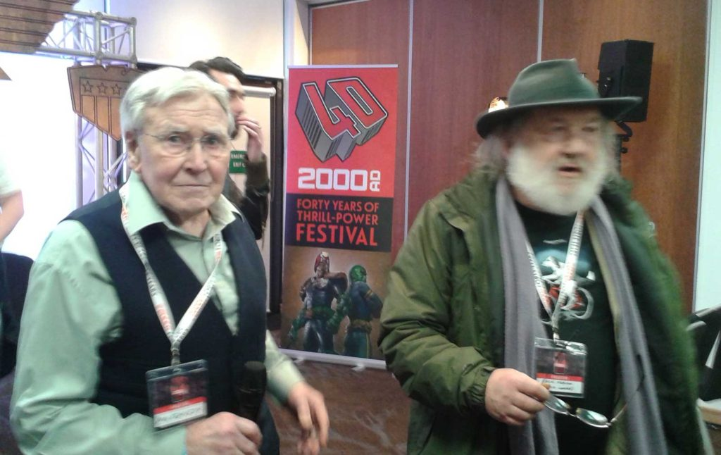 2000AD - 40 Years of Thrill-Power - Ian Kennedy and Chis Lowder