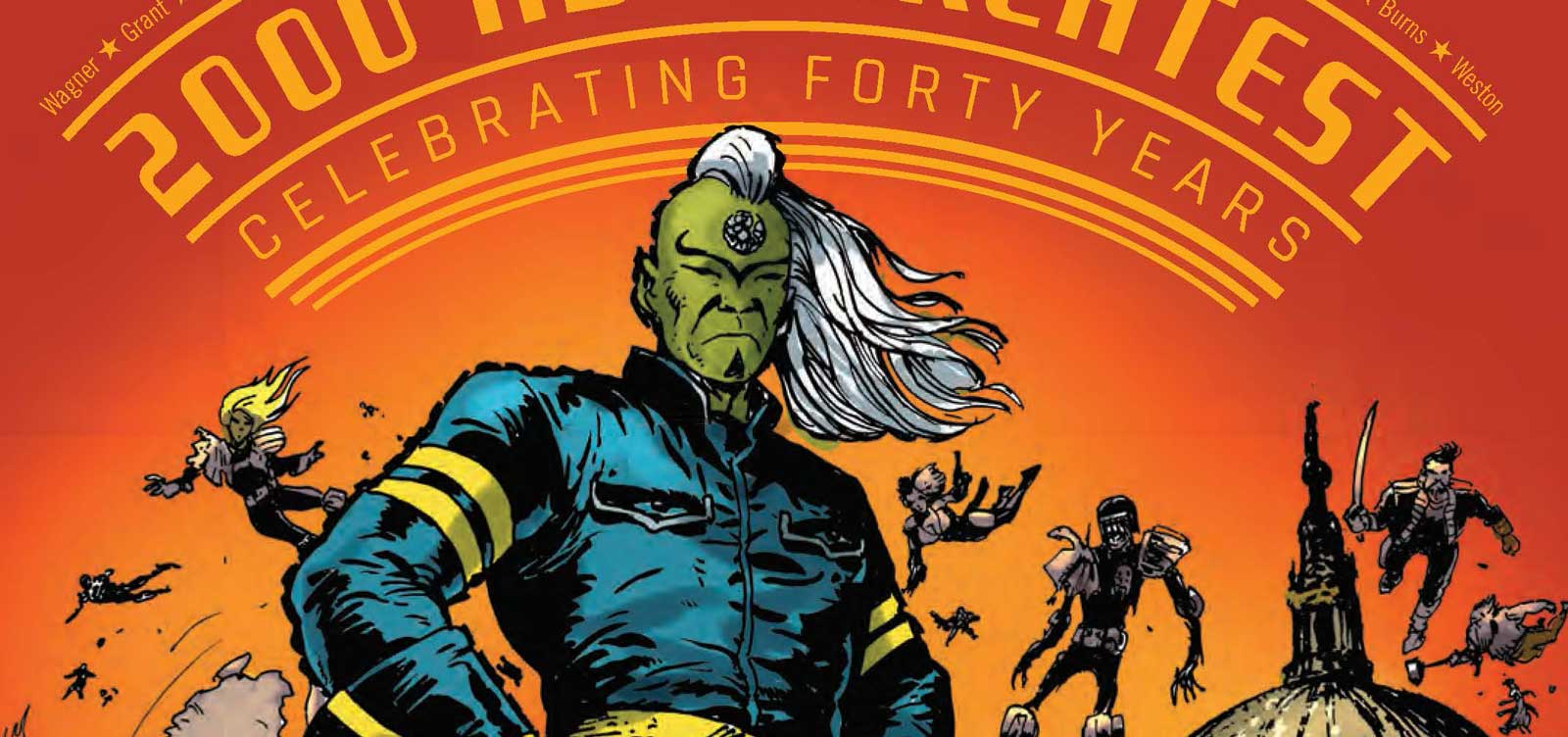 2000 AD's Greatest: Celebrating 40 Years of Thrill-Power SNIP