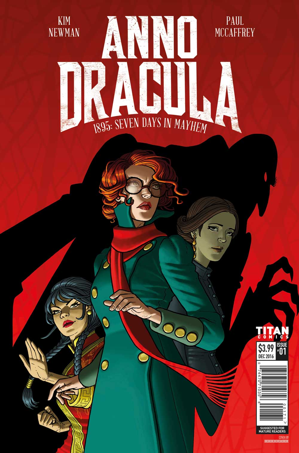 Kim Newman's Anno Dracula Issue #1 Cover A - Paul McCaffrey