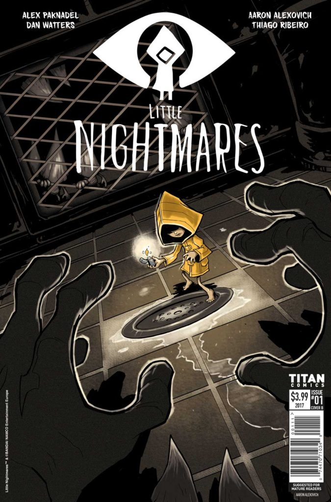 Little Nightmares #1 - Cover A by Aaron Alexovich