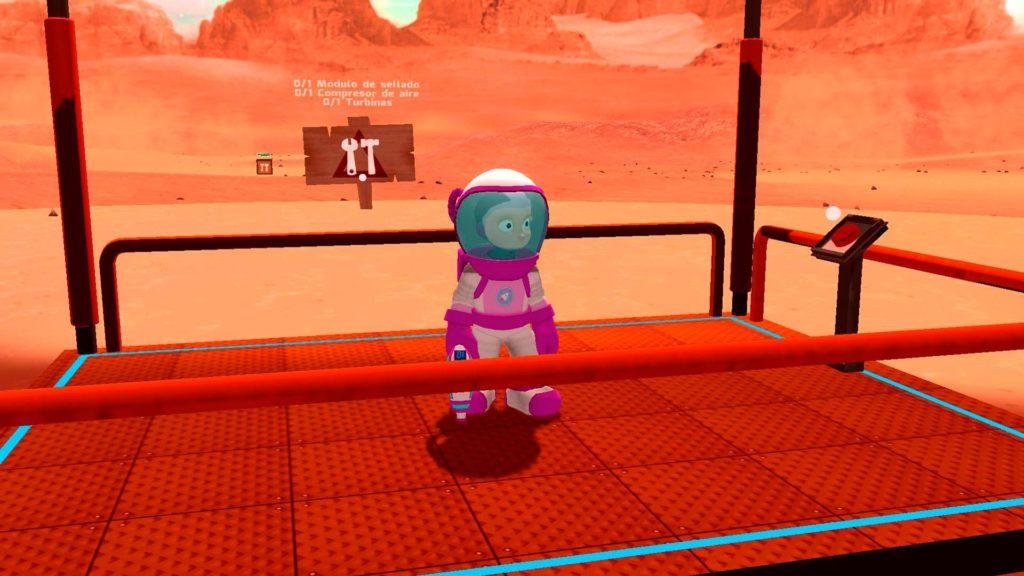 Let's Go to Mars - Screenshot
