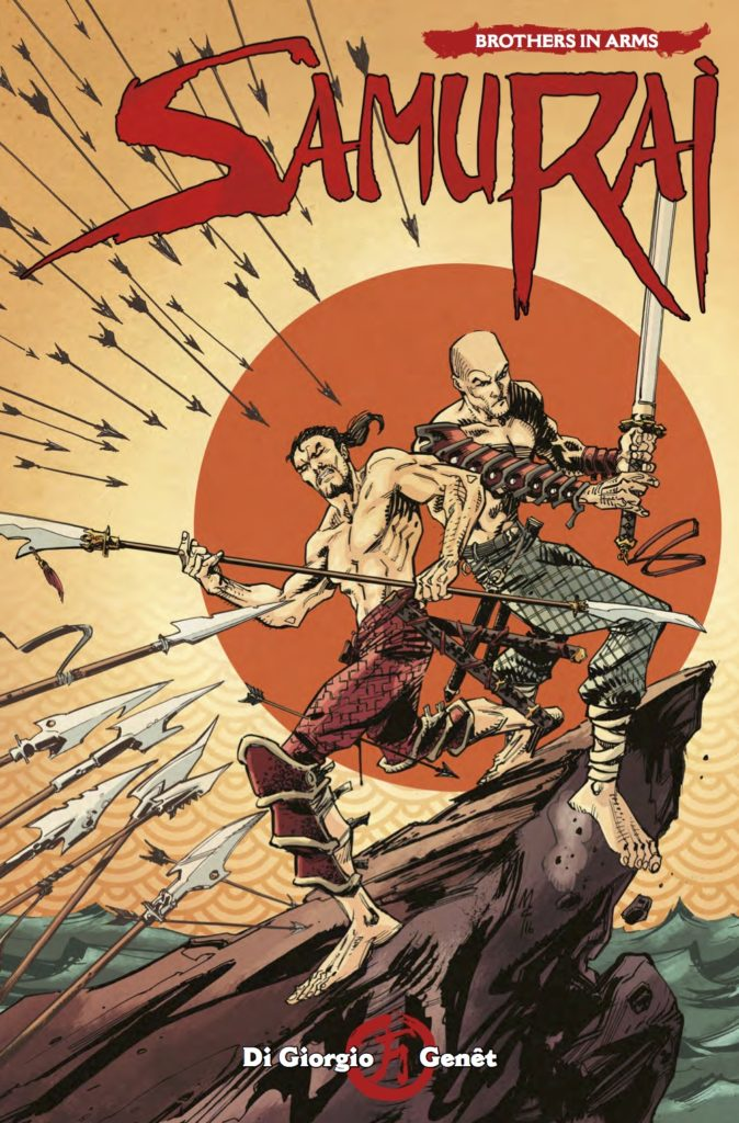 Samurai: Brothers in Arms #2.6 - Cover A