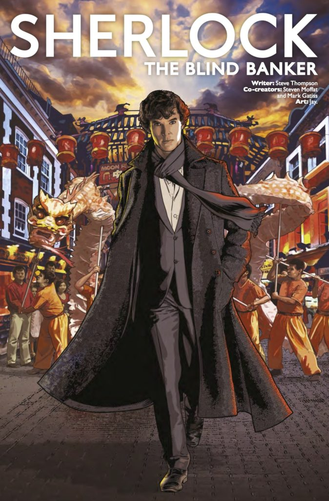 Sherlock: The Blind Banker #2 Cover A
