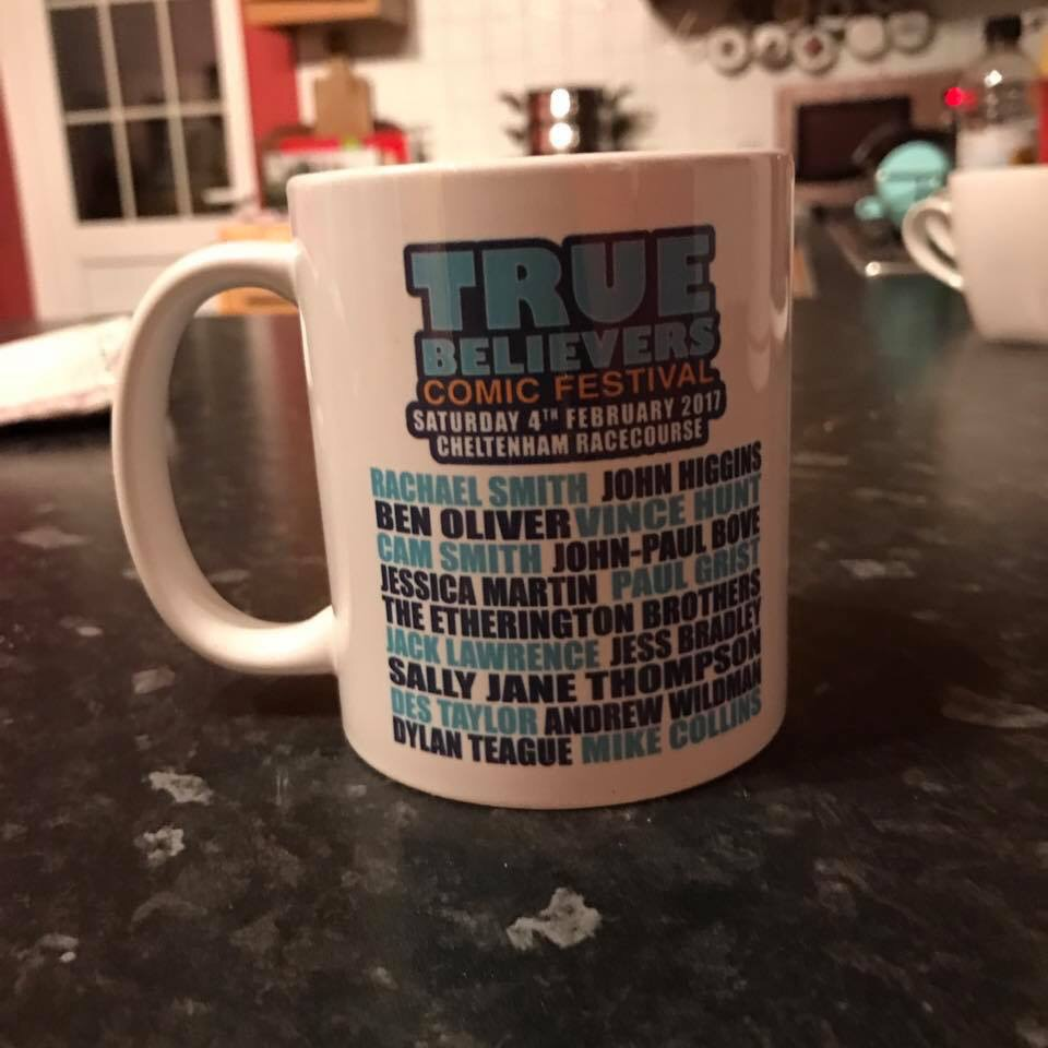 True Believers 2017 Souvenir Mug