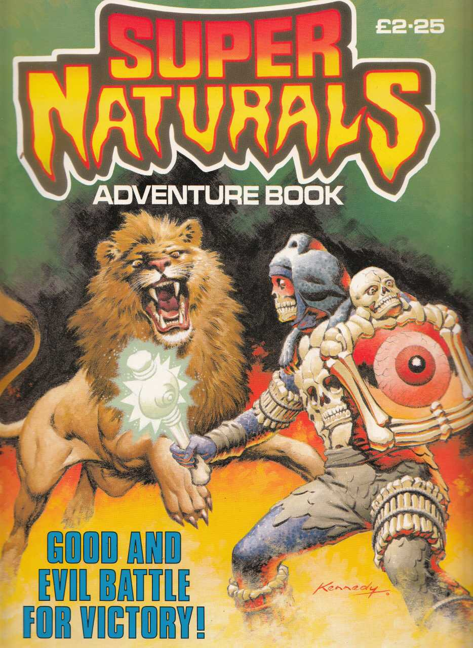Super Naturals Adventure Book