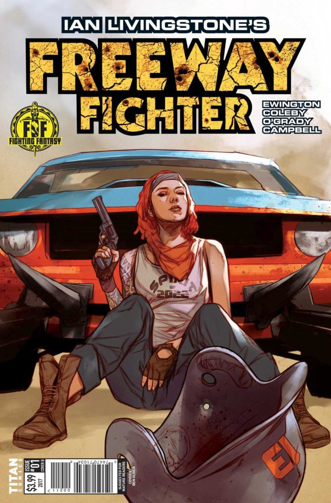 Freeway Fighter #1 - Cover B