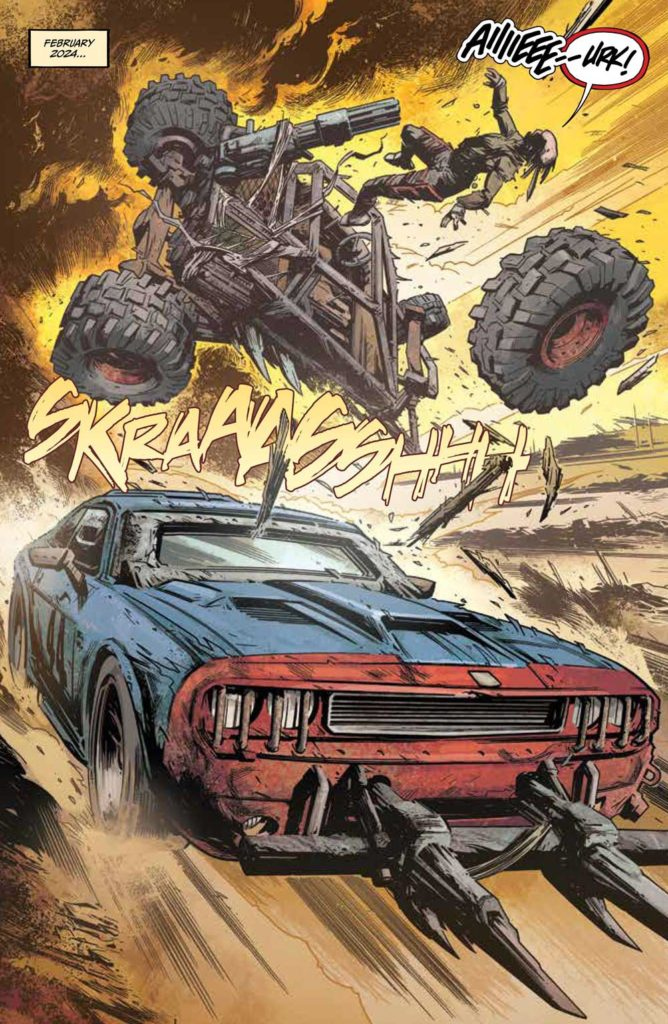 Freeway Fighter #1 - Preview 1