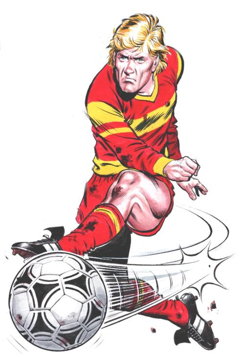 Roy of the Rovers by David Sque