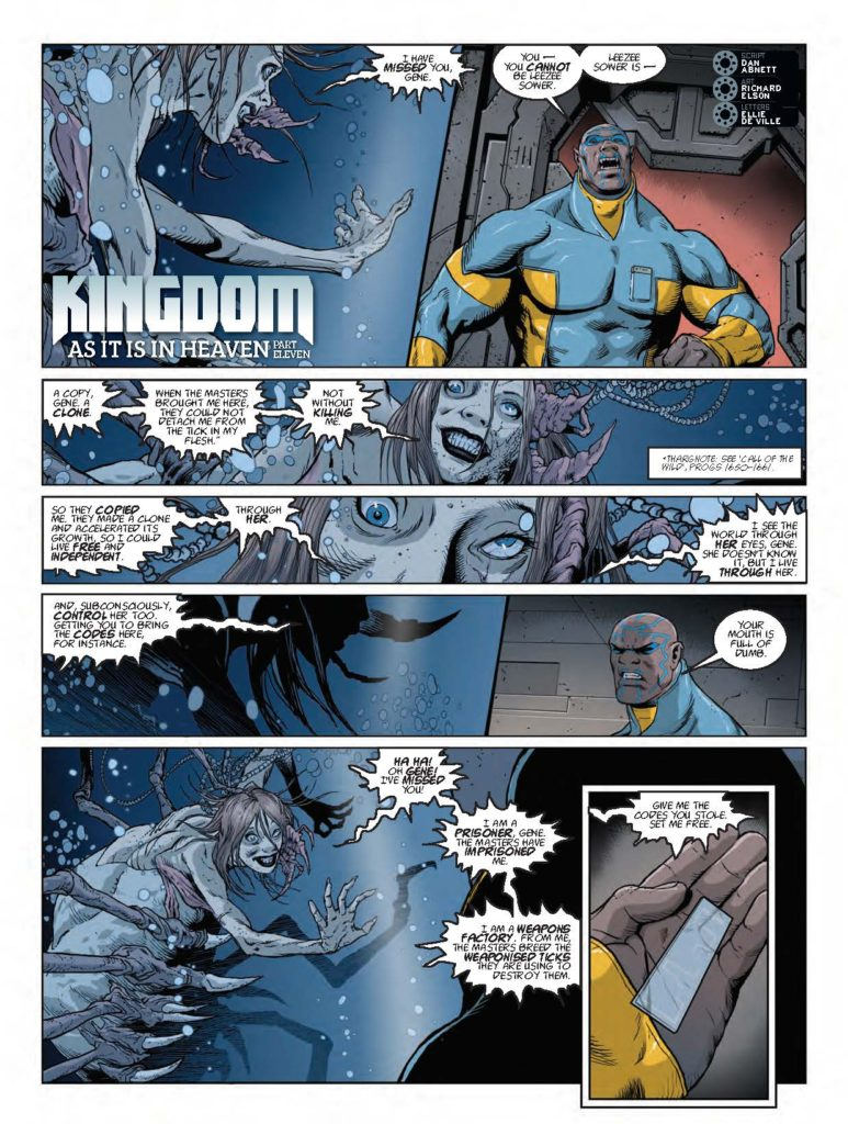 2000AD Prog 2021 - Kingdom: As It Is In Heaven