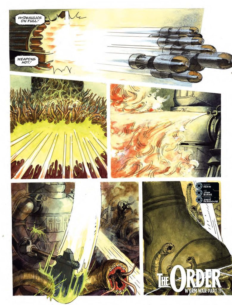 2000AD Prog 2021 - The Order: Wyrm War