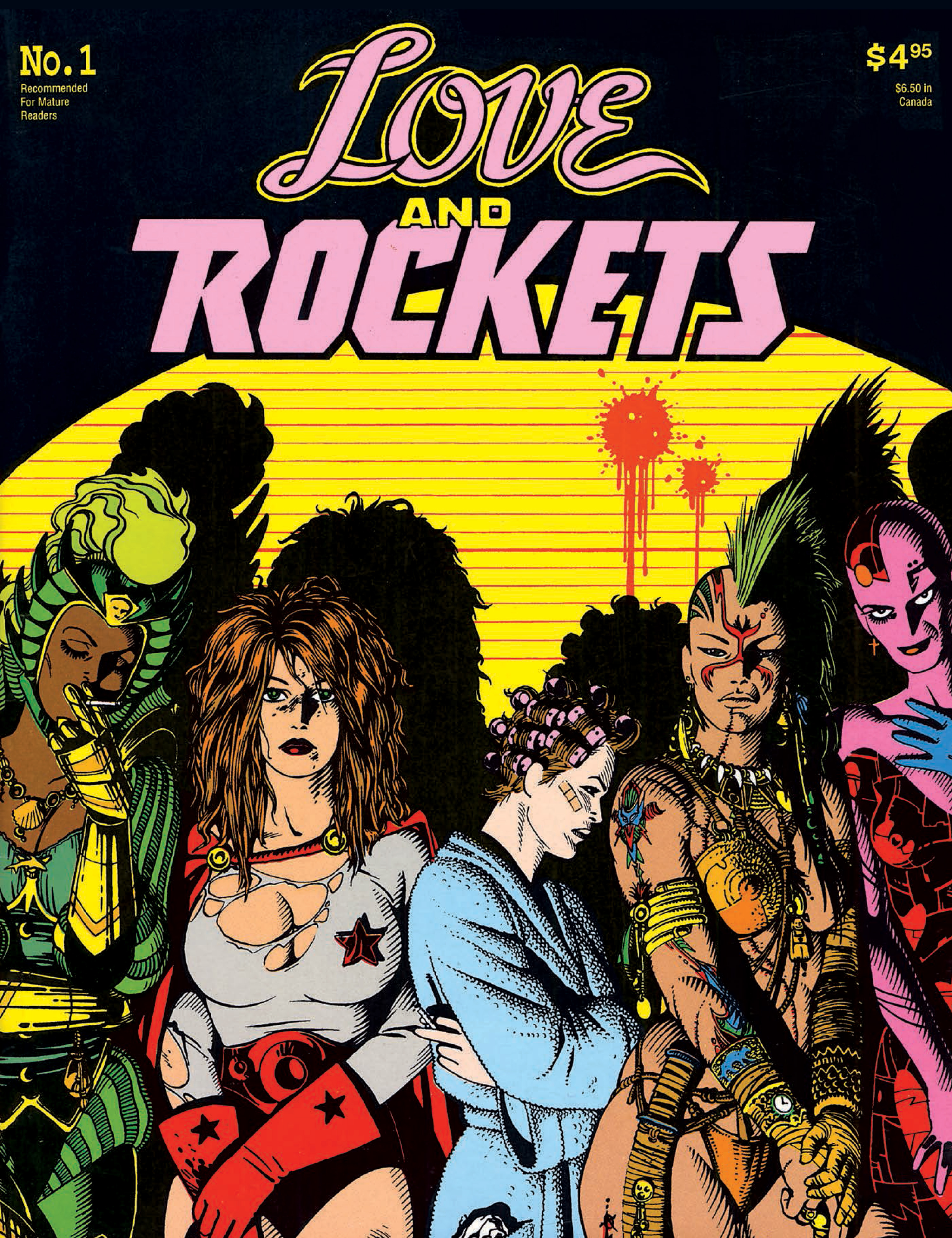 Love and Rockets #1 - Cover