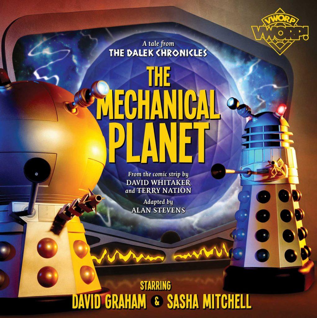 Vworp Vworp Volume 3 - The Mechanical Planet - Cover