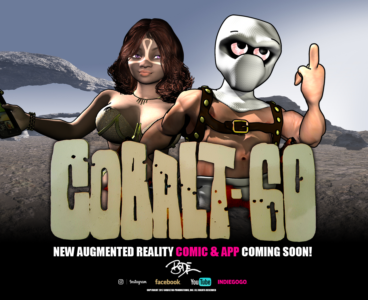 Cobalt 60 Augmented Graphic Novel Promotion