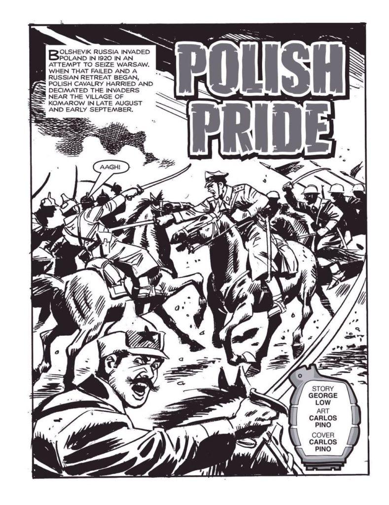 "Commando art by Carlos Pino - ""Polish Pride"""