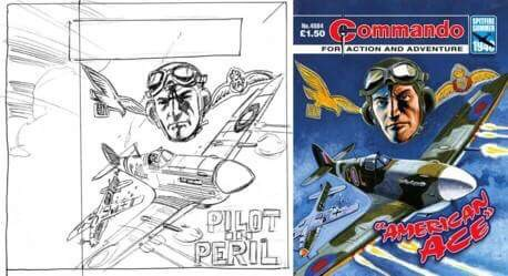 Commando Cover Rough by Carlos Pino
