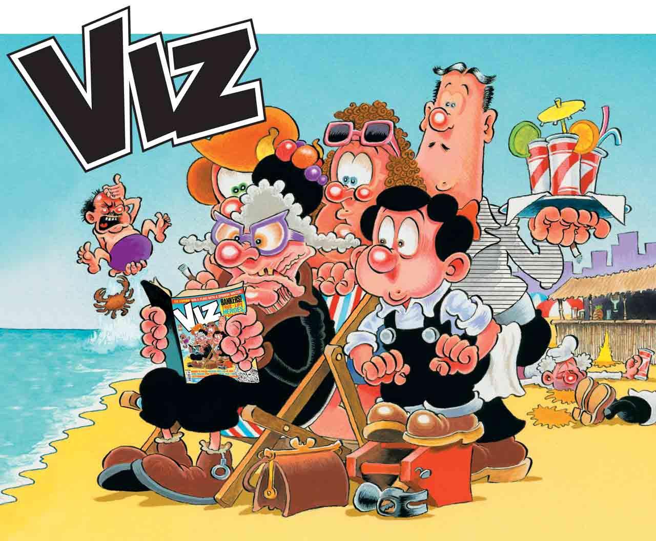 VIZ Promotional Art