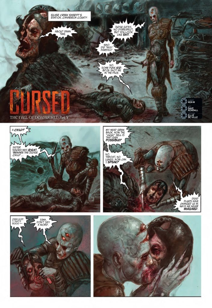 2000AD 2027 - The Fall of Deadworld - Cursed (Part 5)