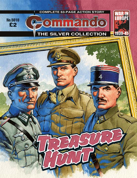 Commando Issue 5010: Treasure Hunt