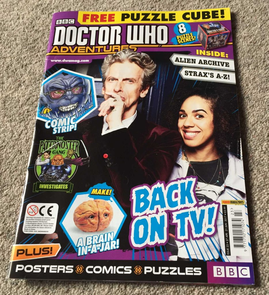 Doctor Who Adventures Issue 23 - Cover