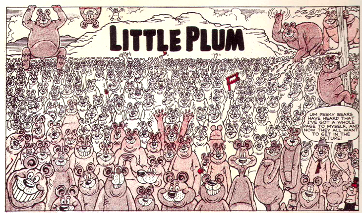 """""""Little Plum"""" for The Beano Issue 880, by Leo Baxendale"""