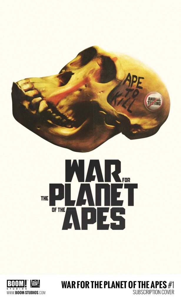 War for the Planet of the Apes #1 Variant