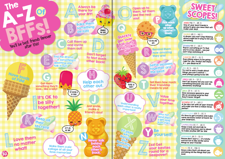 Sweet Issue One - Feature Spread