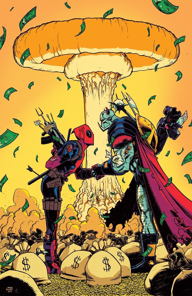 Deadpool versus Death's Head by Nick Roche and Josh