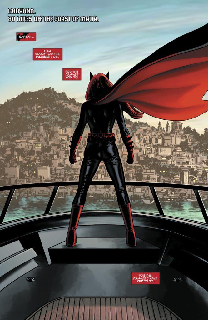 DC Universe Rebirth: Batwoman #1 - Sample Art
