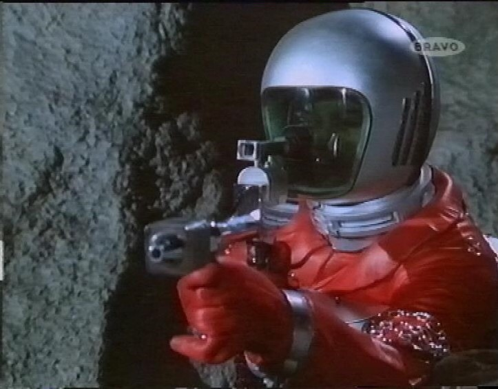 An alien from Gerry Anderson's UFO