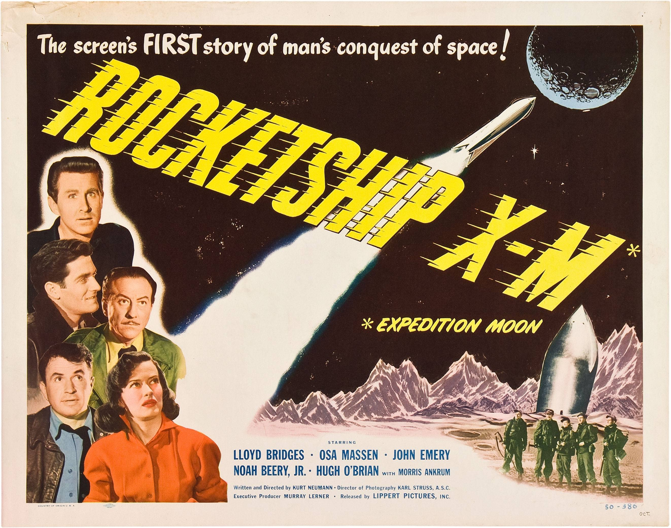 Rocketship X-M Film Poster