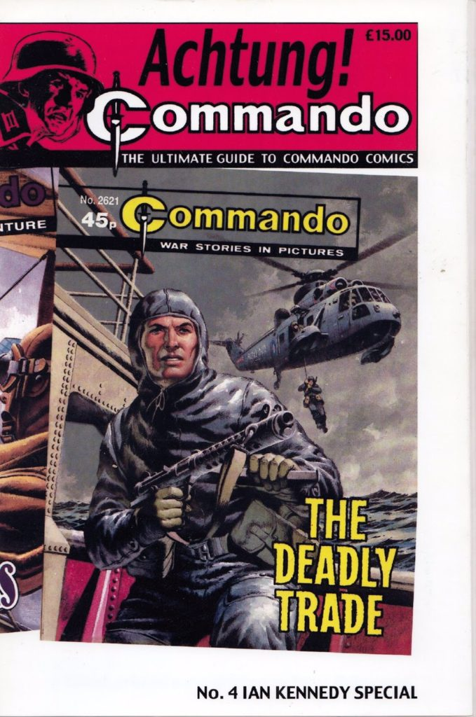 Achtung! Commando Issue Four