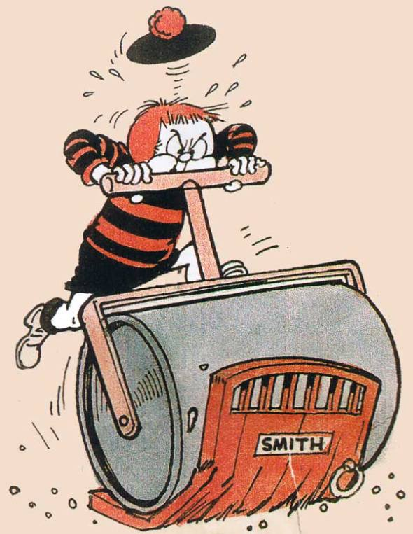 Minnie the Minx art by Leo Baxendale from The Beano 852, cover dated 15th November 1958