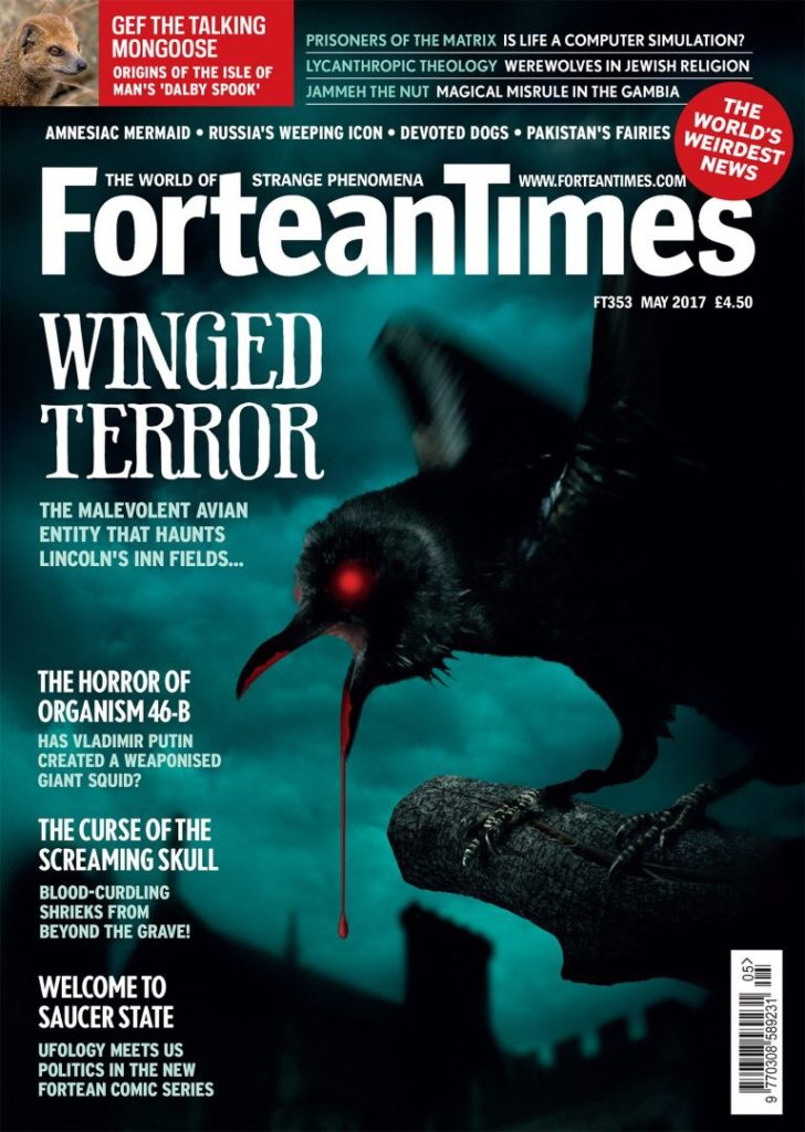 Fortean Times Issue 353 - Cover