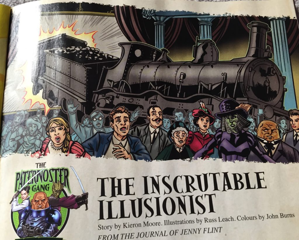 Doctor Who Adventures Issue 23 - The Inscrutable Illusionist