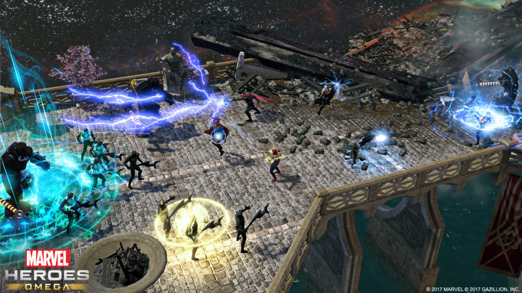 Marvel Heroes Omega - Asgrad Combat