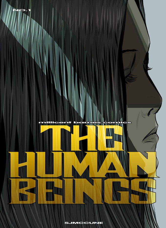 The Human Beings #1 - Cover by Stuart John McCune
