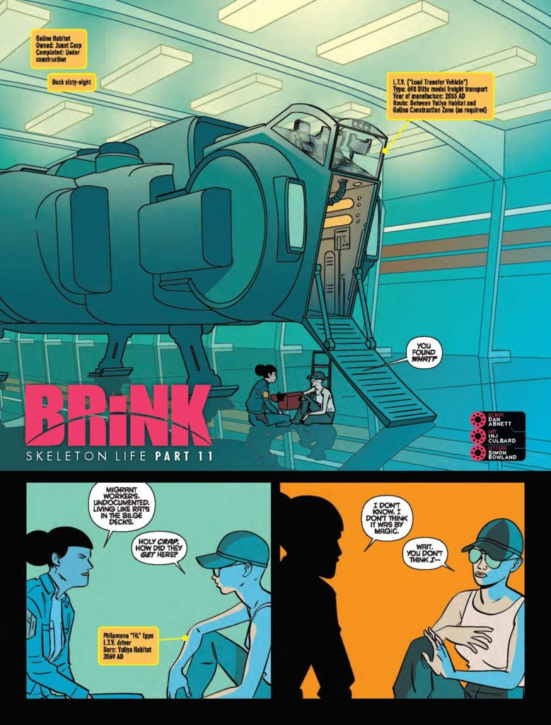 2000AD 2033 Brink: Skeleton Life - Part 11