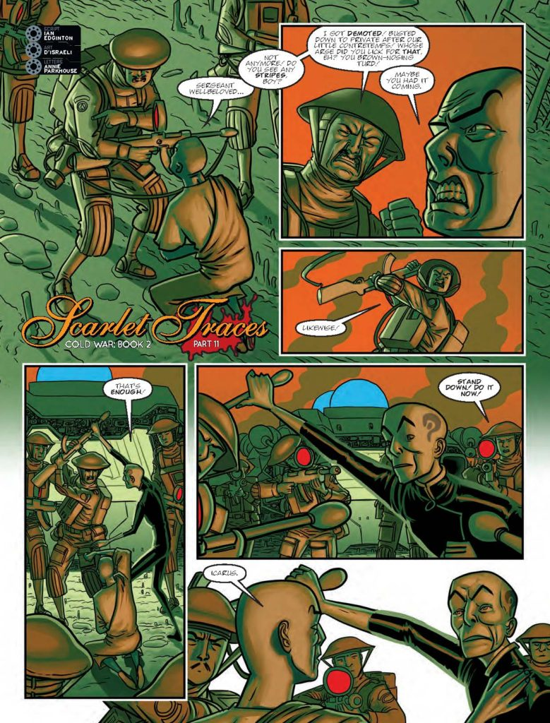 2000AD 2033 Scarlet Traces: Cold War Book 2 - Part 11