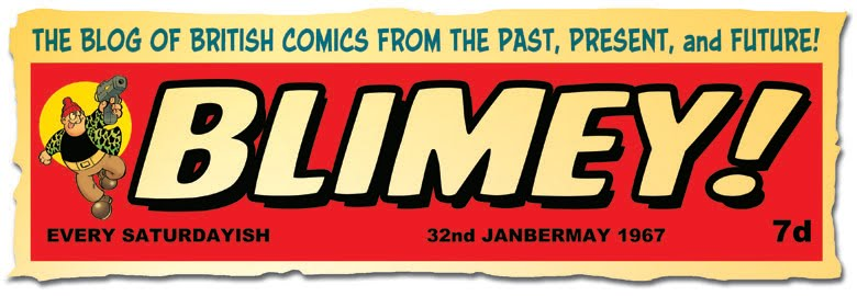 Blimey - The Blog about British Comics Logo - 2017