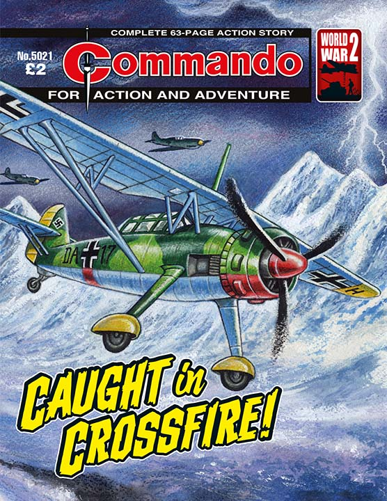 Commando 5021 (Action and Adventure): Caught in Crossfire