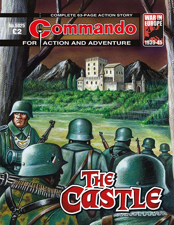 Commando 5025 Action and Adventure: The Castle